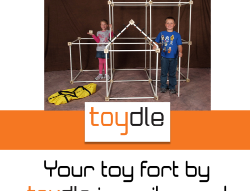 Toy Forts Under the Tree or at least a personalized gift card.